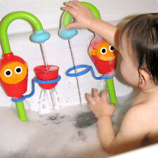 Creative Cartoon Flow 'N' Fill Spout Bath Toy Baby Gift Learning Fun Toy Set NEW