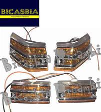 8991 - FRECCE COMPLETE CON GRIGLIA ARANCIONI VESPA 125 150 200 PX - ARCOBALENO