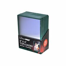 "Ultra Pro Regular Toploader 3"" X 4"" (25 Pcs) Green Border | Premium Card Sleeves"