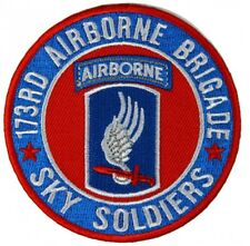 """173rd Airborne Brigade Patch 3"""" by Ivamis Trading P5122 Free Shipping"""