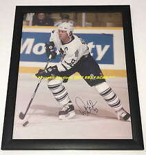 DOUG GILMOUR Auto SIGNED Framed 11x14 Photo TORONTO MAPLE LEAFS HOF GREAT WoW~@@