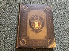 Old Vtg Antique GERMAN'S IRON CHANCELLOR Book By Bruno Garlepp Warner Co.