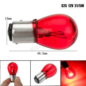 1 Pcs RED 12V 21/5W BAY15D 1157 380R 380 Bulb Car Brake Stop Tail Lamp Light !