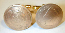 Antique Indian Head penny cuff links-nicely domed