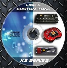 64.739 Patches Line6 POD x3-x3 Live-x3 Pro.Multi Effects Processor. Custom Tone