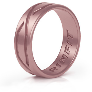 Silicone Wedding Ring for Women - Patented design - 4LOVE collection by Rinfit