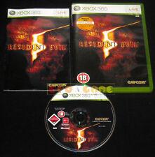 RESIDENT EVIL 5 XBOX 360 Versione Inglese gioco in Italiano »»»»» COMPLETO