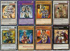 Yugioh Arcana Knight Joker Deck - Zubaba General, King's Queen's Jack's