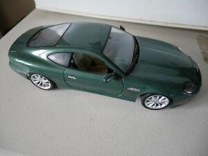 MAISTO 1/18 SCALE ASTON MARTIN DB7 VANTAGE DIE CAST MODEL CAR