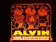 Alvin and the Chimpmunks Led Neon Acrylic Sign / Night Light
