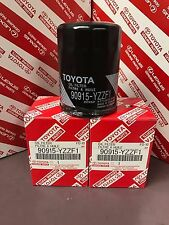 Set Of 3 Toyota Genuine OEM Oil Filter 90915-YZZF1 Camry - Rav4 - Corrola - TC +