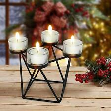 Metal Tealight Decorative Candle Holder for Side/Center Table Dining table