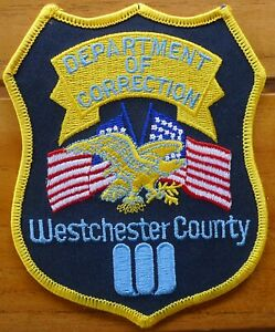 DEPARTMENT OF CORRECTION WESTCHESTER COUNTY Patch