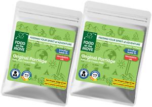 Twin Pack - Outdoor & Emergency Food - Original Porridge - Premium Quality Meal