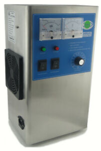 OZONE Generator 2g/h Multipurpose Sterilizer for water/Oil/Air +Recyclable Dryer