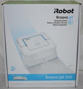 iRobot Braava Jet 245 Automatic Mopping Robot B245020 White ~460