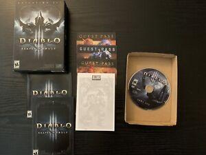 KEY USED: D3 Diablo 3 Diablo III: Reaper of Souls (Windows/Mac, 2014)