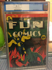 More Fun Comics #69 CGC 6.5 FN+ Dr. Fate Cover! Spectre! RARE only 19 on census!
