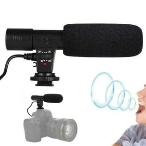 Mic-01 3.5mm DV Stereo Microphone Professional For Vlog Nikon Sony Canon GoPro