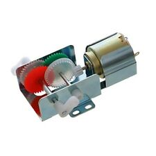 2 in 1 Gearbox Kit incl motor gearbox frame & shaft Robotics Meccano Arduino etc