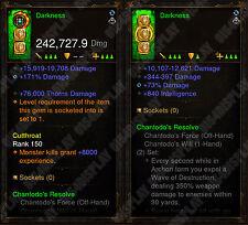Diablo 3 RoS XBOX ONE - [SOFTCORE] New 2.6 - Modded Wizard Weapon Bundle