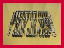 Honda GL500 GL 500 Stainless Steel Bolt-kit Screw-set Motor Cover Engine Cover
