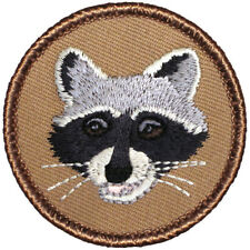 ROCKY!  New Boy Scout Patrol Patch - Raccoon Patrol! (#480)