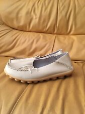 Women Fashion Shoes Leather Slip On Loafers Moccasin Flat Boat Oxfords Shoes