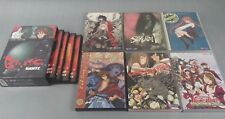 10pc Mixed Lot Anime DVD Speed Grapher Gantz Negima Love Hina Samurai 7
