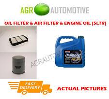 Essence huile filtre à air kit + huile 0W40 pour daewoo lacetti 1.6 109 bhp 2004-08