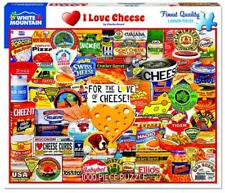 White Mountain - I Love Cheese - 1000 Piece Jigsaw Puzzle New Sealed