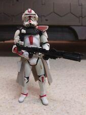 Star Wars Clone Commander Deviss Hasbro 2004 Action Figure 3.75 Fair Condition