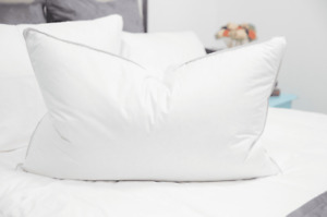 The Marriott Down and Feather Pillow - Customer Return Clearance