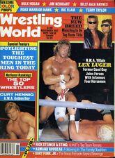 LEX LUGER Wrestling World Magazine November 1987 DUSTY RHODES/CURT HENNIG