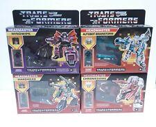 Transformers G1 Walmart Retro Reissue Headmaster Wave 1 Set of 4 Brand New