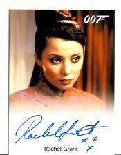 Rachel Grant as Peaceful Desire JAMES BOND 007 2017 Final Edition Autograph Card