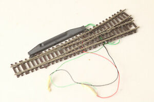 Roco H0 Lean Left Switch Electric Drive Track Braun (200141 67)