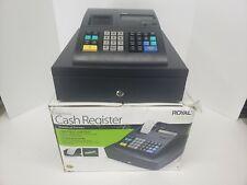 Royal 120DX Electronic Cash Register *TESTED WORKS* No Key