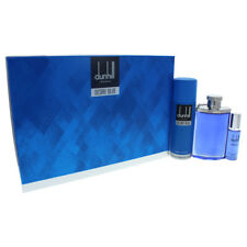 Desire Blue by Alfred Dunhill for Men - 3 Pc Gift Set 3.4oz EDT Spray & More