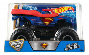 Hot Wheels Monster Jam 1:24 Scale Man Of Steel Vehicle New 2-day Shipping