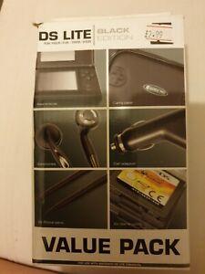 Competition Pro DS Lite Value Pack - Black Nintendo DS Lite Accessory Bundle