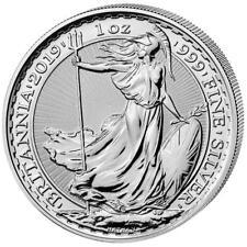 Großbritannien - 2 Pfund 2019 - Anlagemünze Britannia - 1 Oz Silber ST