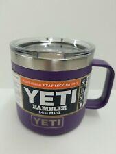 Yeti Rambler 14 oz. Mug Peak Purple w/ Lid Priority Shipping