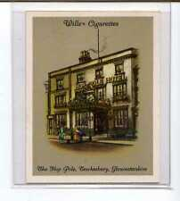 (Jv991-100) Wills,Old Inns A Series,The Hop Pole Gloucestershire,1936 #21