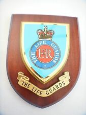 The Life Guards Wall Plaque UK Hand Made for MOD new style