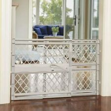 Portable Pet Gate Dog Gate Baby Safety Guard Gate Fits 26