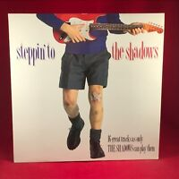 THE SHADOWS Steppin' To The Shadows 1989 UK VINYL LP EXCELLENT CONDITION