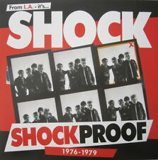 SHOCK LP SHOCKPROOF BAGS EYES DILS X FEAR GERMS VOX POP 45 GRAVE BLACK RANDY UXA