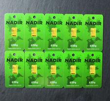 Goldbarren 10 Stück á 0,10 Gramm NADIR Gold Barren 0,1g 0,10g 1g 999,9 Geschenk!
