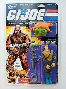 G. I. JOE Spearhead & Max MOC FUNSKOOL International Heroes Hasbro Action Figure